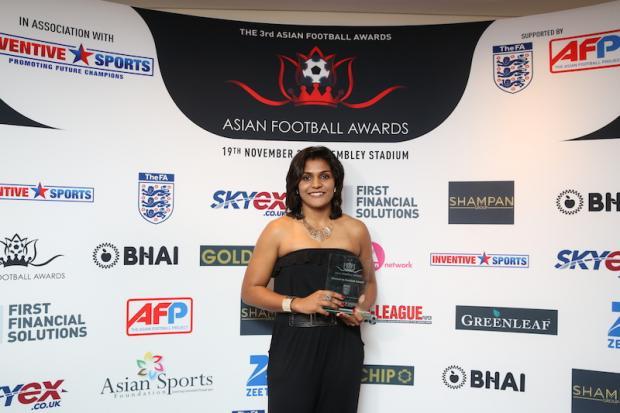 AFA-2015-Woman-in-Football-winner-Aditi-Chauhan_West-Ham-United-FC-and-India
