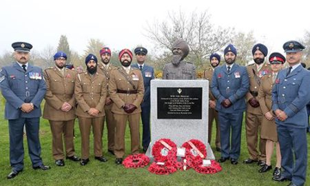 Statue for WW1 Sikh Soldiers Unveiled at National Memorial Arboretum