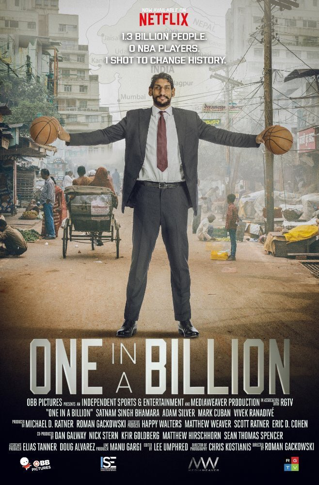 Satnam Singh documentary 'One in a Billion' Netflix Exclusive