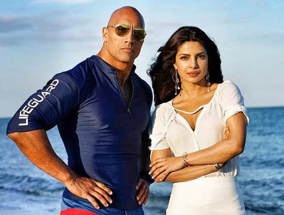Baywatch the Movie Dwayne Johnson x Priyanka Chopra