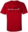 DesiWest World Wide T-Shirt Red
